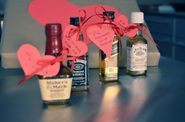 Liquor and hearts valentine for guys