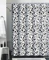 Black Tree Shower Curtain - Beautiful Elegance