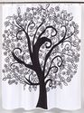 Best Black Tree Shower Curtain Powered by RebelMouse
