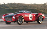 1949 Ferrari 166 MM Touring Barchetta. Made with a super light chassis this car was Ferraris most potent model back i...
