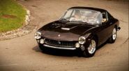1962 Ferrari 250 GT Lusso Berlinetta. This car was made for touring but was raced by enthusiasts. Steve Mcqueen's act...