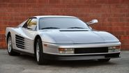Ferrari Testarossa. Personally one of my favourites of all time. The edged side along with the 12 cylinder grunt is a...