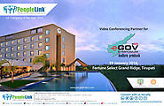 PeopleLink as the Video Conference Partner for eGov AP Symposium 2016