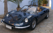 The 1973 Ferrari Dino is fast becoming one of the most sort after Ferraris by collectors. This blue and tan combinati...