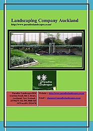 Landscaping Company in Auckland