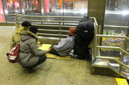 Philly's yearly homeless count took place on a cold Wednesday night