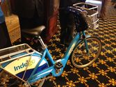 Mayor Nutter and Co. announced the name of Philly's new bike share, Indego