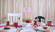Organize a fabulous Galentine's Day party at your home