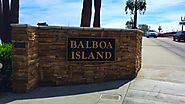 Balboa Island in Newport Beach CA