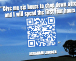 What's Missing From These Quotes? QR Codes Hide the Answers!