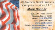 Mark Donner - Computer Repair - 913-856-5385