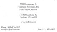 Mark Halpin - Insurance | Commercial, Homeowners, Auto Insurance - 913-856-0002