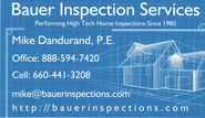 Mike Dandurand - Home Inspector - 888-594-7420