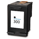 HP 300 Black Ink Cartridge (CC640EE) Remanufactured