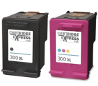 HP 300XL Multipack Black & Tri colour Ink Cartridges (300XLMP) Remanufactured