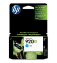 HP 920XL Cyan Ink Cartridge (CD972AE)