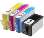 HP 920XL Multipack Black & Colour Ink Cartridges (920XLMP) compatible