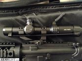 Bushnell AR Optics FFP Illuminated BTR-1 BDC Reticle AR-223 Rifle Scope