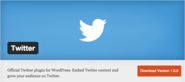 Twitter Now Has An Official Wordpress Plugin