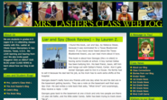 Mrs. Lasher's Class Web Log- Donna Lasher