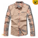 Mens Long Sleeve Plaid Shirt CW1298 - cwmalls.com