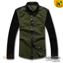 Mens Casual Long Sleeve Shirt CW130031 - cwmalls.com