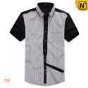 Mens Original Design Short Sleeve Slim Shirts CW100319 - cwmalls.com