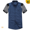 Mens Designer Original Slim Short Sleeve Shirts CW100315 - cwmalls.com
