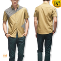 Cotton Short Sleeve Shirts for Men CW100325