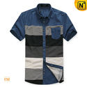Men Fitted Button Down Cotton Shirts CW100316