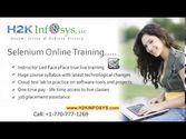 Selenium Tutorials for Beginners | Selenium Online Training | Selenium Webdriver Training