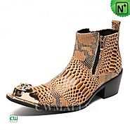 CWMALLS® Minneapolis Printed Ankle Boots CW707211