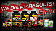 San Nutrition Accelerate Bodybuilders Performance
