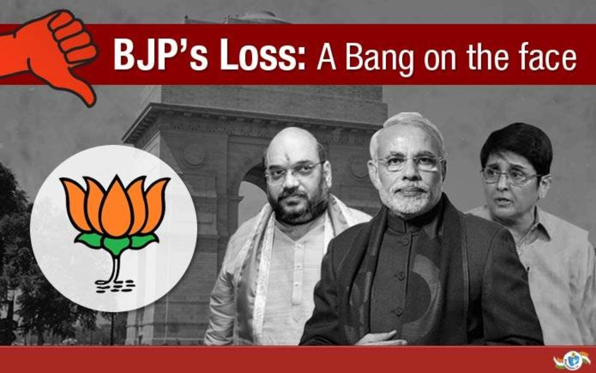 Headline for 10 Reasons BJP Lost in Delhi Elections 2015