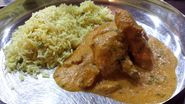 Chicken Korma........Yup, Madras hot!
