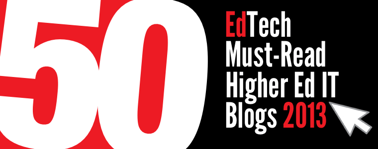 Headline for EdTech's 2013 Must-Read IT Blogs Nominees