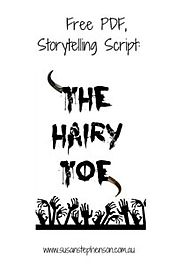 Free PDF Storytelling Script, The Hairy Toe