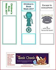 Free PDF Bookmarks – Children's Book Week 2017