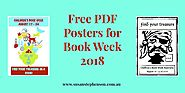 Free PDF Posters for Book Week 2018