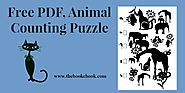 Free PDF, Animal Counting Puzzle