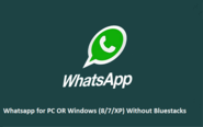Guide to Use Whatsapp on Windows PC