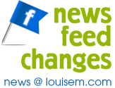 NEW! Facebook News Feed Changes: More Visual, More Choice | LouiseM.com How-to Social Media Graphics