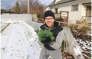 Rock star (urban) farmer is all about the money