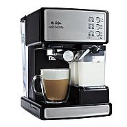 Mr. Coffee Cafe Barista Espresso/Cappuccino/Latte Maker with Automatic Milk Frother, BVMC-ECMP1000 (Certified Refurbi...