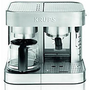 Krups Combination Espresso Machine - Stainless Steel - XP604050 - Kitchen Things