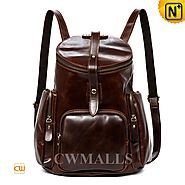 Boston Men's Leather Backpacks CW915230