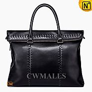 CWMALLS® Men's Vintage Leather Briefcase CW906335