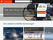 Docs.com: Microsoft startet Sharing-Plattform für Office-Dokumente - silicon.de | Aug. 2015