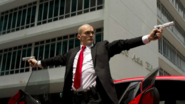 The new Hitman movie ads are just someone pretending to murder YouTube stars