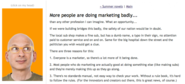 Content marketing advice from Seth Godin